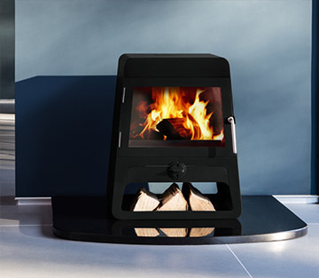Wood Burning Stove Future Fires Contemporary Design