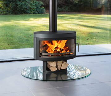 Future Fires Wood Burning Stoves - Contemporary Design